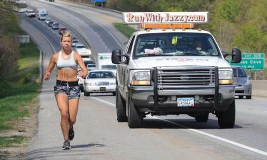 Jazzy Jasmine runs the country.