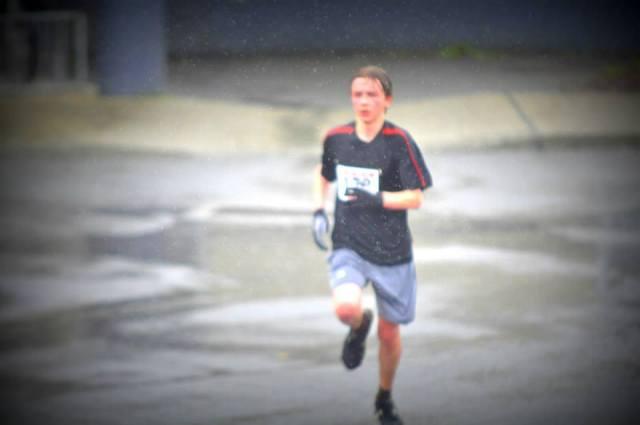 David running