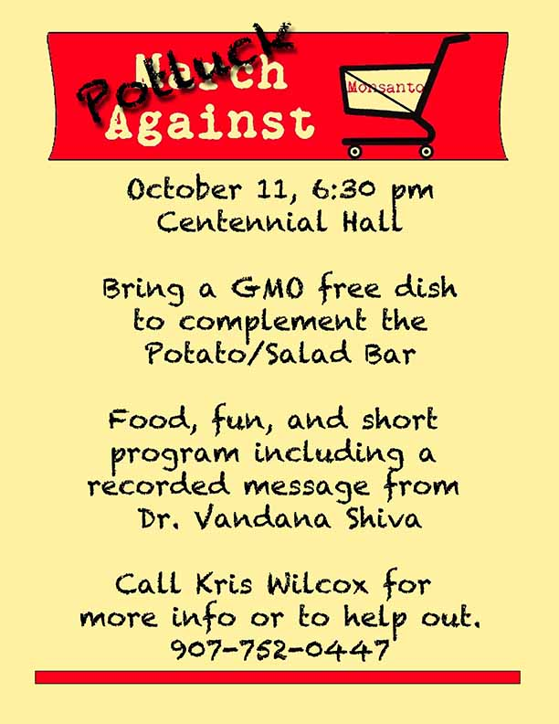 March Against Monsanto Flyer72