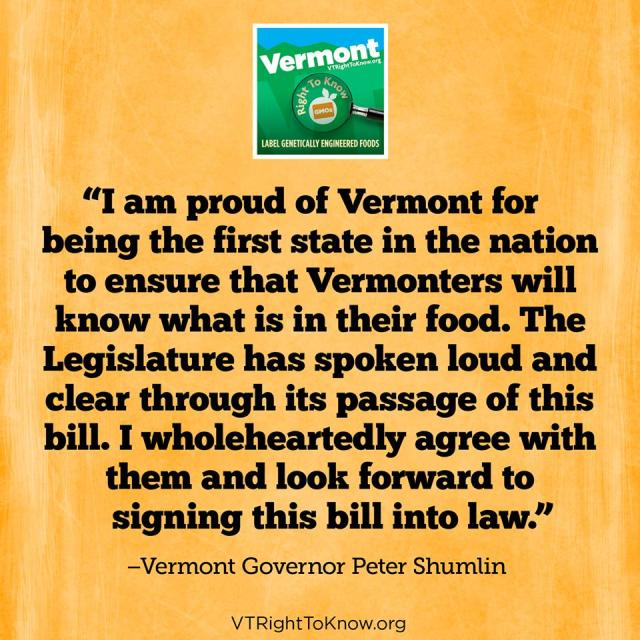 VermontGovStatement