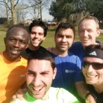 Happy faces at the end of an intervals session