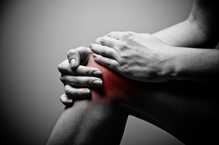 Knee pain (image credit: unknown)