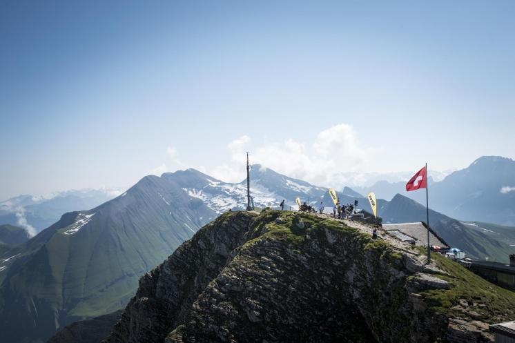 Eiger Ultra Trail view