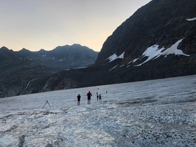 The stunning glacier