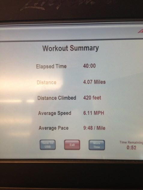 40 min interval stats