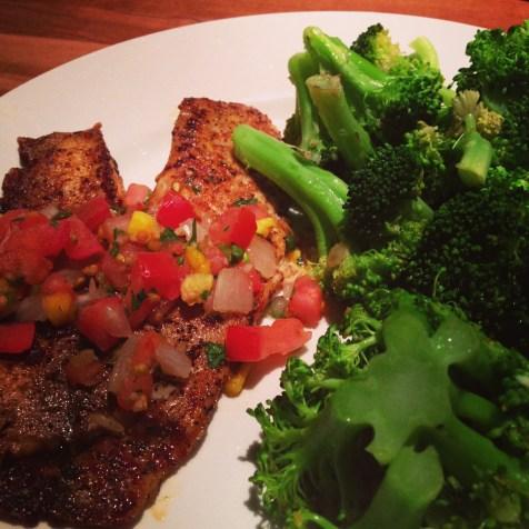 Tilapia Dinner
