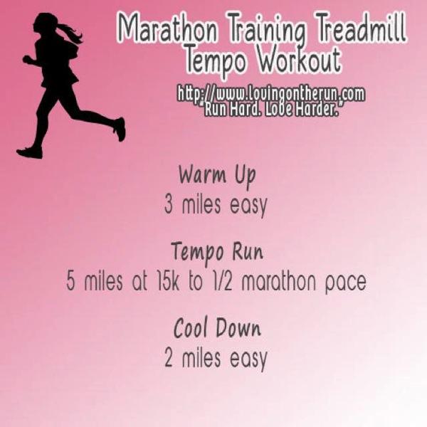 Marathon Treadmill Tempo
