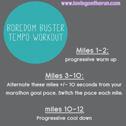 Boredom Buster Workout