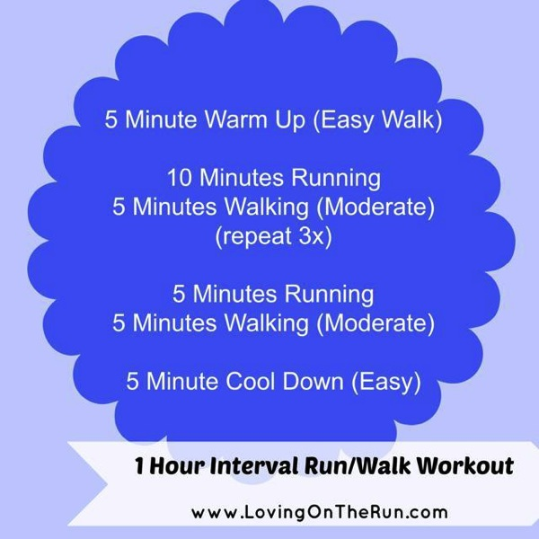 1 Hour Interval Workout