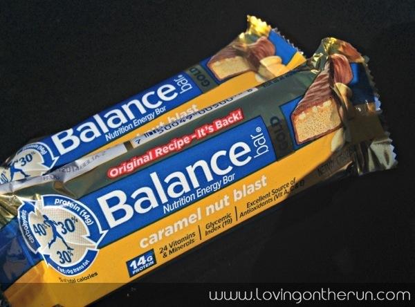 Balance Bar Caramel Nut Blast