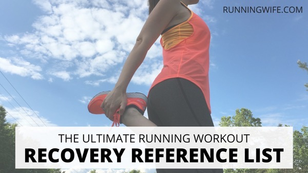 Running Workout Recovery List