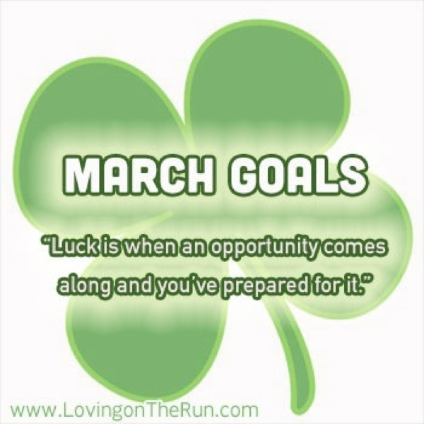 March Goals for Healthier Living