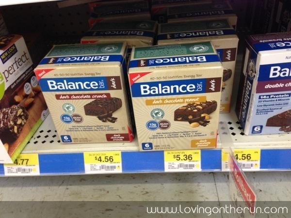 Balance Bar Selection