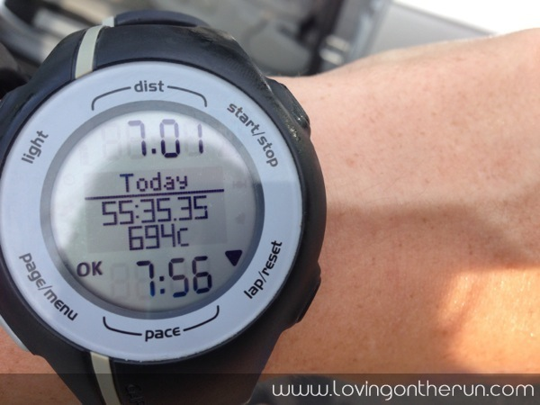 7 Mile Tempo Run