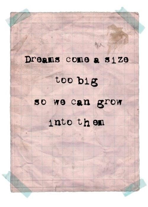 Dreams Come In