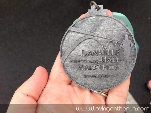Danville Half Finish