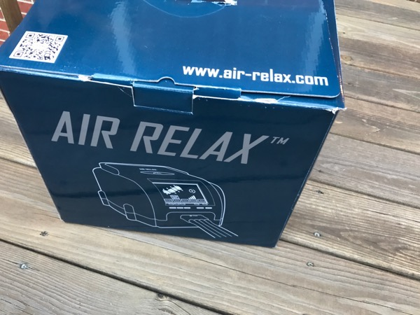 Recover with Air Relax Recovery System