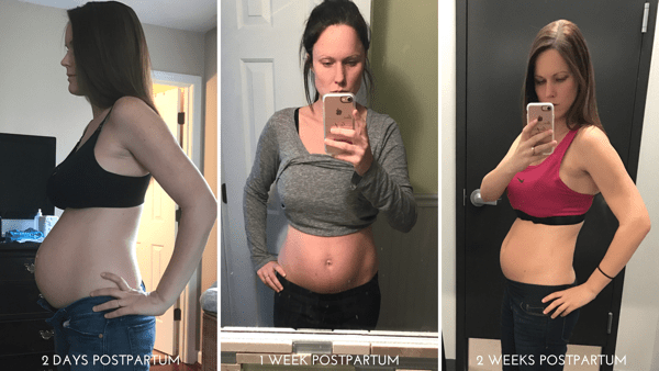 Postpartum Progress 2 Weeks