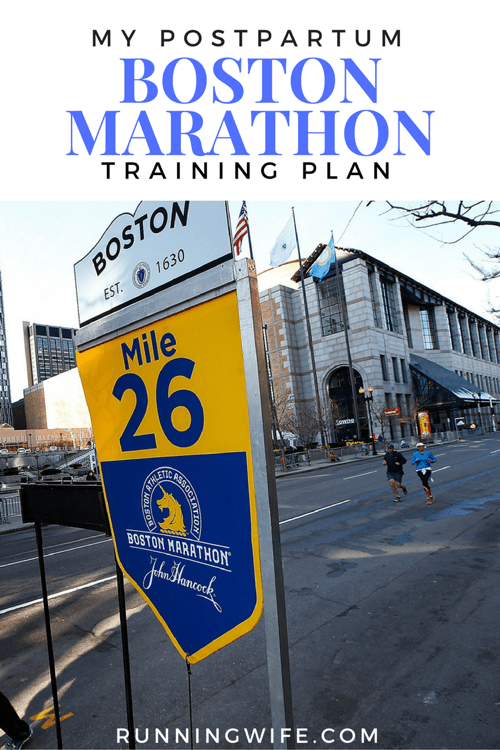 Postpartum Marathon Training