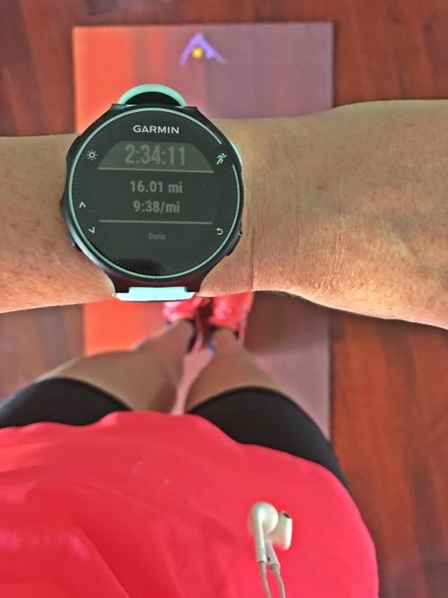 Boston Marathon Week 5 Long Run