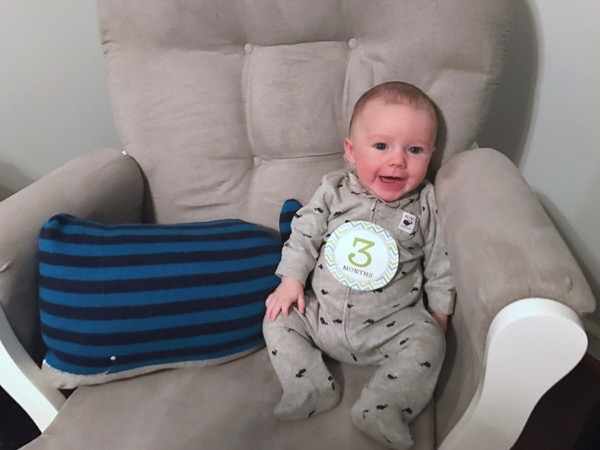 Easton: 3 Months Old