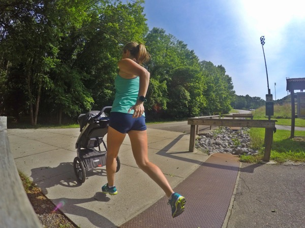 Finding Speed Postpartum {5k Training Week 1}