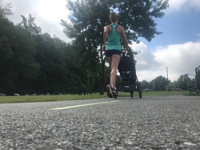 Postpartum 5k Week 5 Workout 2