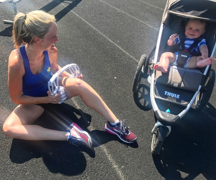 Postpartum 5k Week 5 Family Track Workout