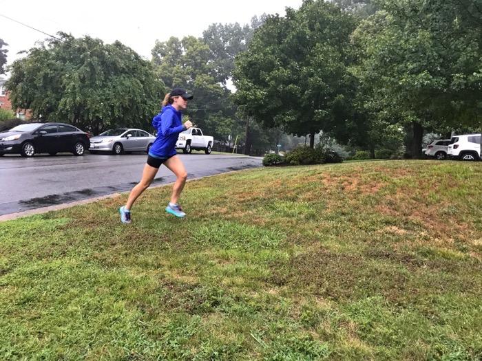 6.73 Mile Rainy Run