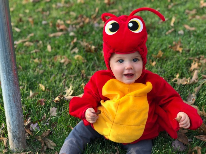 Easton's First Halloween
