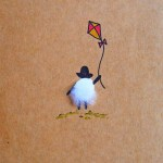 Kite flying (LWD002). Artist: Louise Webber