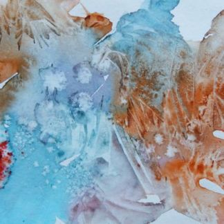 watercolour painting. Abstract III (DMA011) Artist: Dana Mallon