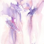 Watercolour painting. RWB0154 Tutus. Artist: Vandy Massey