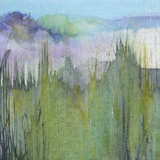Watercolour painting. RWB0307 Long Grass. Artist: Vandy Massey