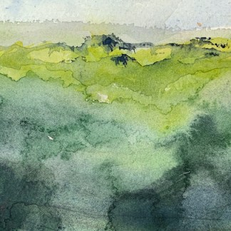 Watercolour painting. RWB0362 Reforest. Artist: Vandy Massey