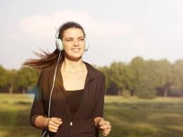 Hardlopen met muziek