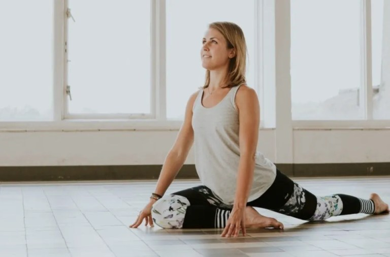 Yoga helpt bij hardlopen