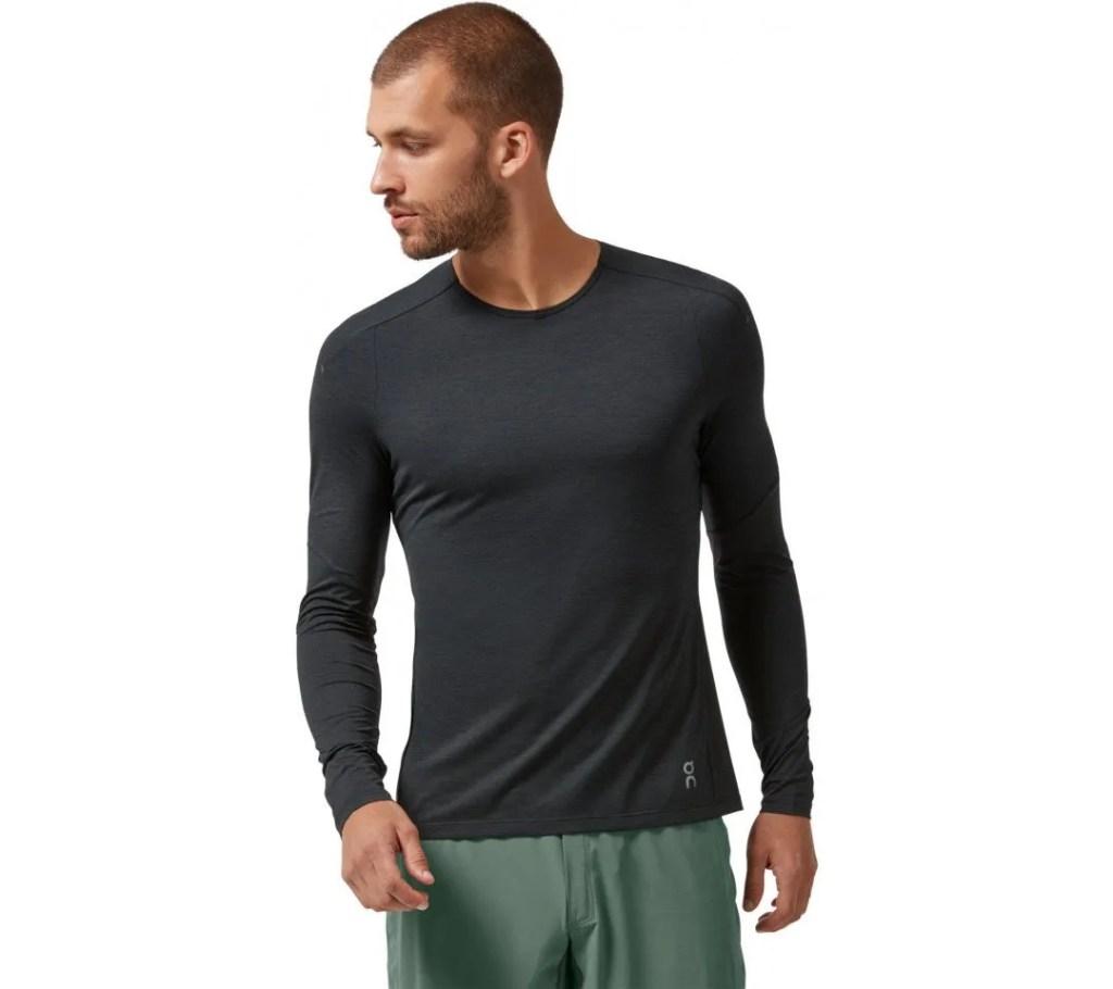 Hardloopshirt on lange mouw long sleeve man