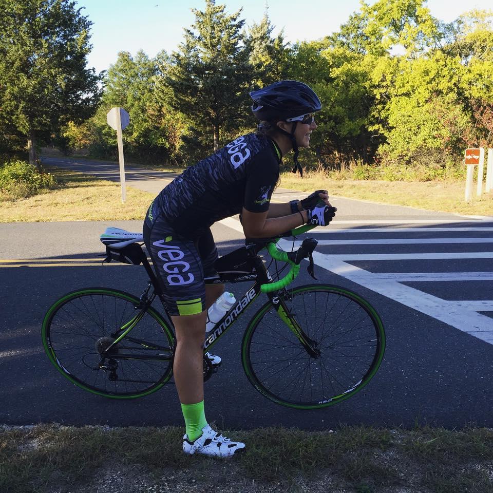 Training ride in Sandy Hook