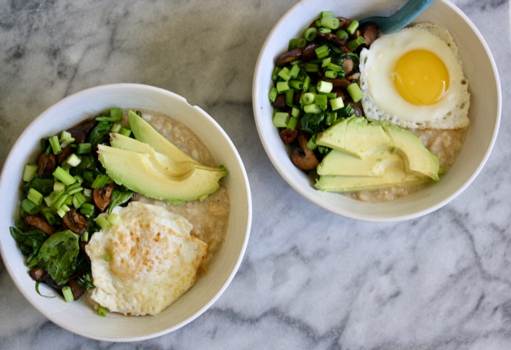 Protein Packed Savory Oatmeal