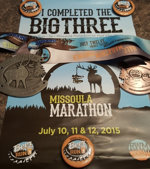 Missoula Marathon - Big Three