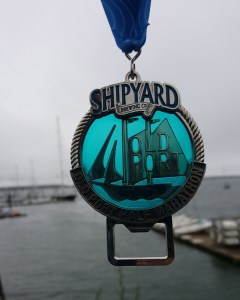 Shipyard Old Port Half Marathon Race Medal