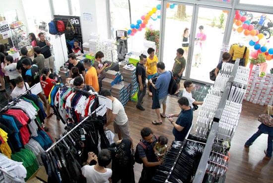 Savvy shopper-athletes getting their money's worth