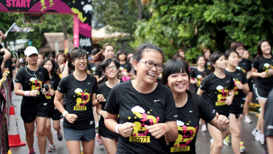 Nike Goddess 2012: Where Best Friends Ruled Running