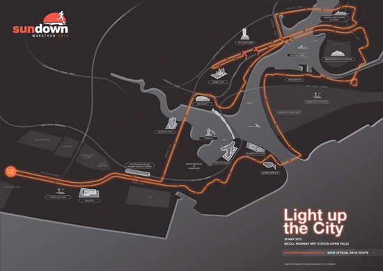 42km Race Route