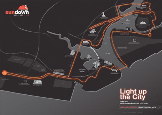 42km Race Route