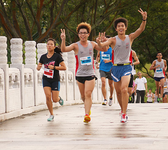 Jurong Lake Run 2012: Running As One
