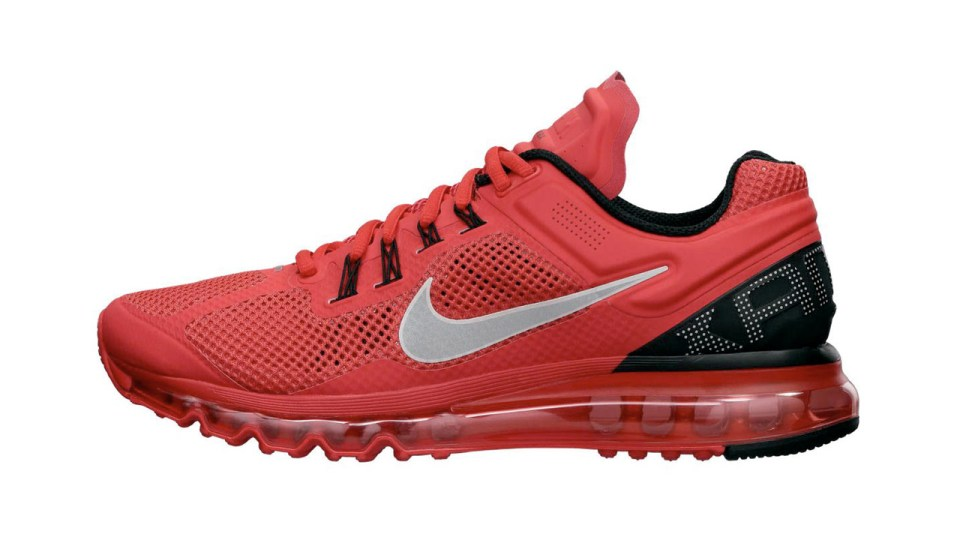 Run On Air with the Nike Air Max+ 2013