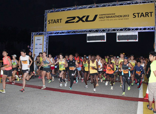 2XU Compression Run 2013: Hope and Courage Multiplied