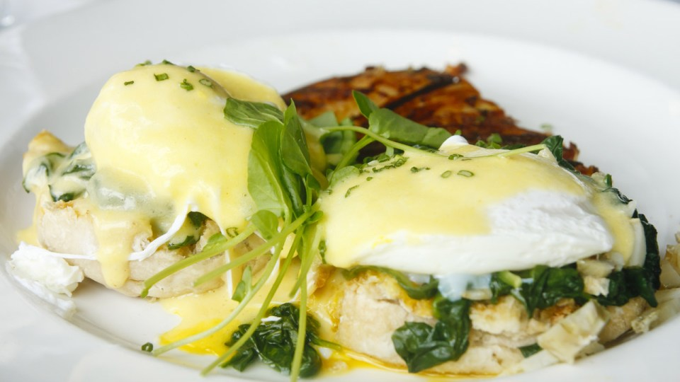 Quick and Easy Eggs Florentine Recipe